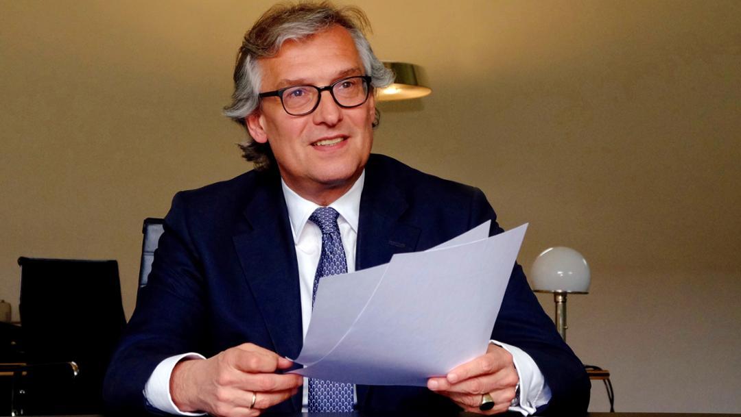 Dr. Ralf Hofmann, Vorsitzender der Geschäftsführung bei MHP, 2016, MHP