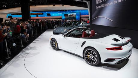 Detroit: Der neue 911 Turbo