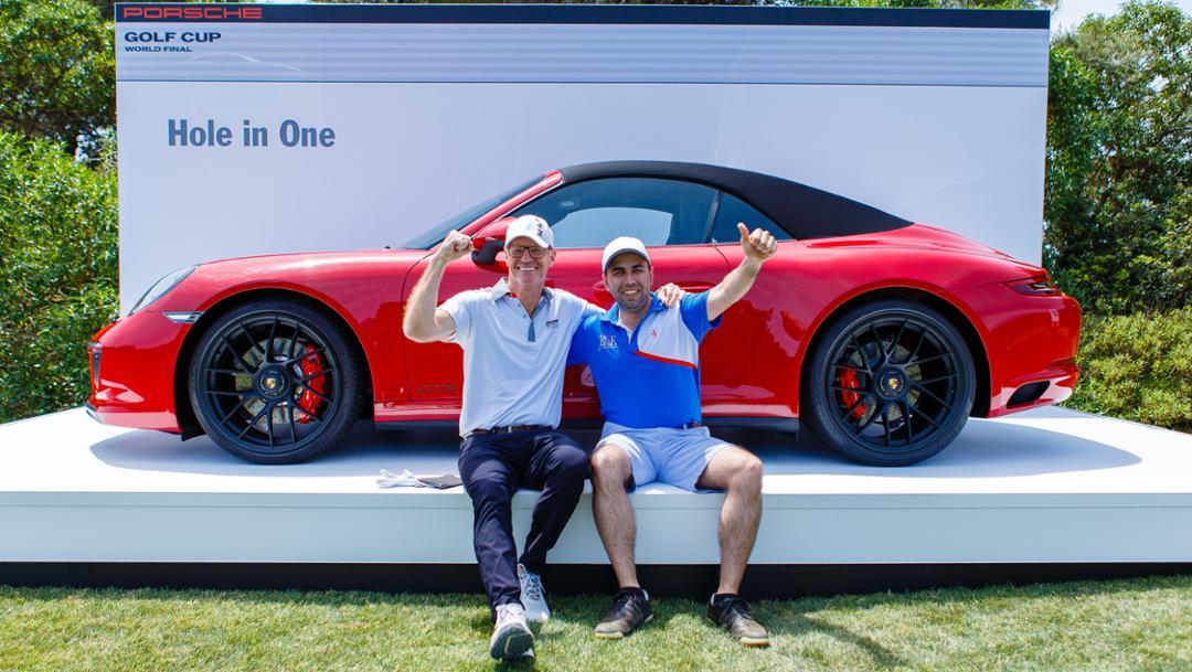 911 Carrera GTS Cabriolet, Hole-in-One-Preis, Porsche Golf Cup World Final, Mallorca, 2017, Porsche AG