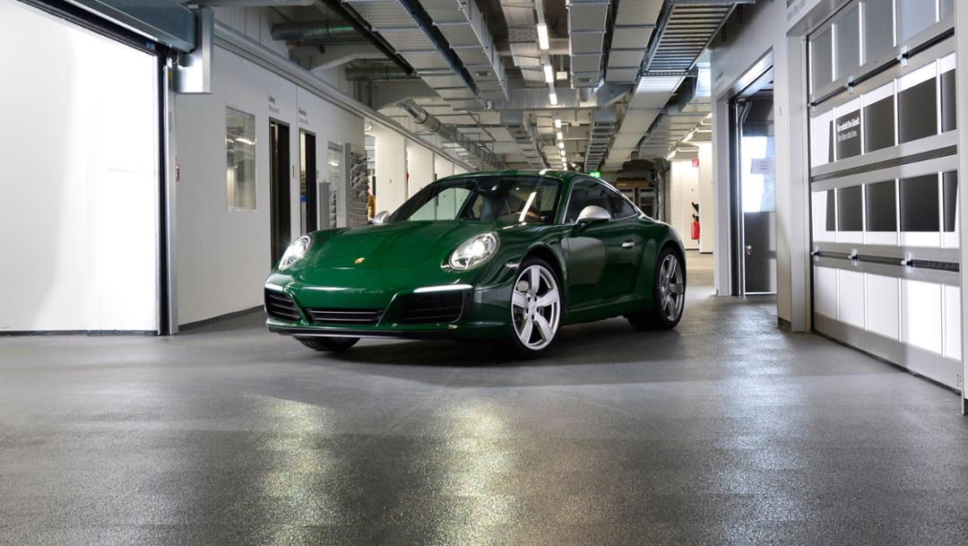 Einmillionster 911, 911 Carrera S Kit, 2017, Porsche AG