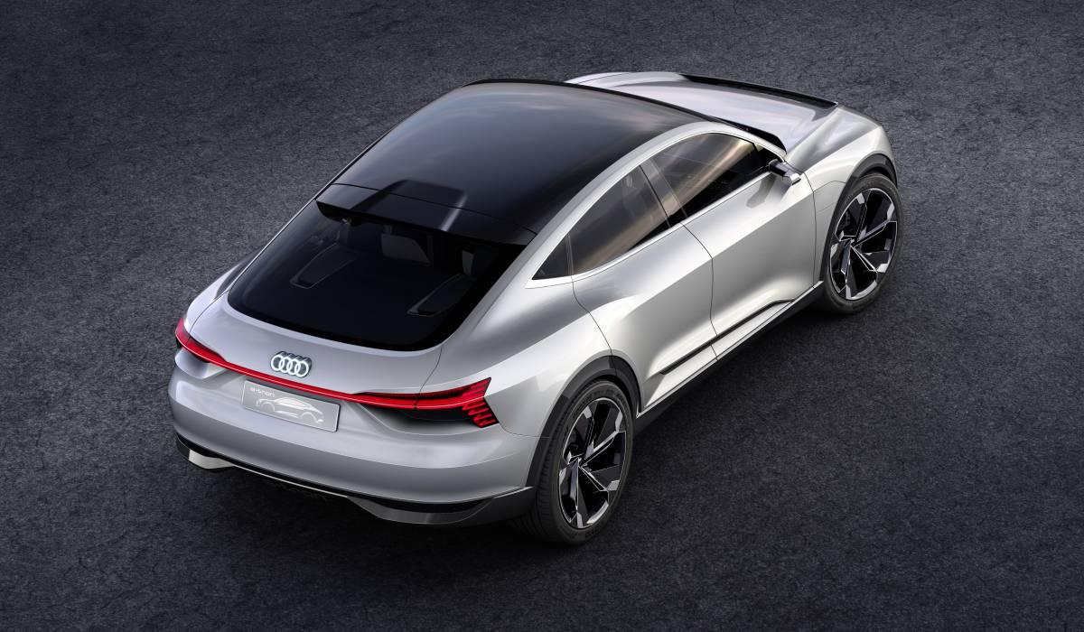 Der Audi e-tron Sportback