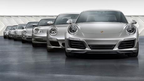 Von Null auf 1.000.000: Sieben Generationen Porsche 911