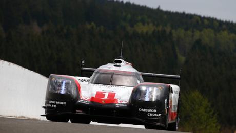 Poleposition für den Porsche 919 Hybrid in Spa