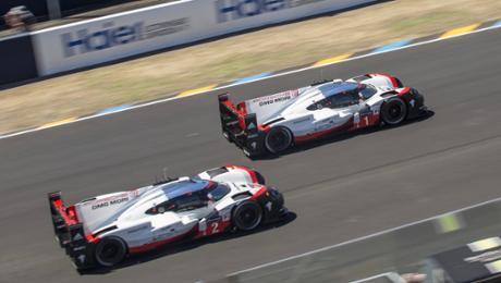 Von Platz 54 auf die 1: 919 Hybrid siegt in Le Mans