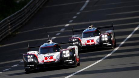 Intensive Rennvorbereitung im Porsche LMP Team