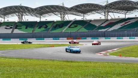 Porsche Driving Experience in Malaysia eingeführt