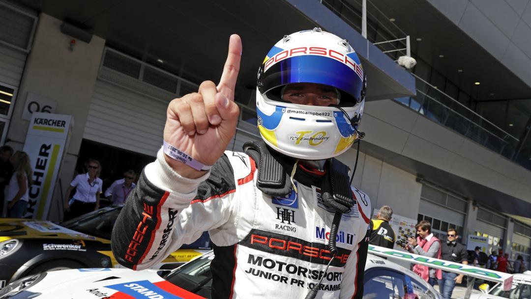 Matt Campbell (AUS), Porsche Carrera Cup Deutschland, Lauf 5, Spielberg 2017, Porsche AG