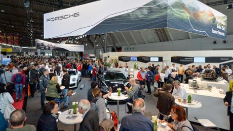 Das Porsche Museum auf der Retro Classics
