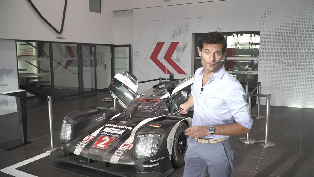 Mark Webber erklärt den 919 Hybrid (2016)