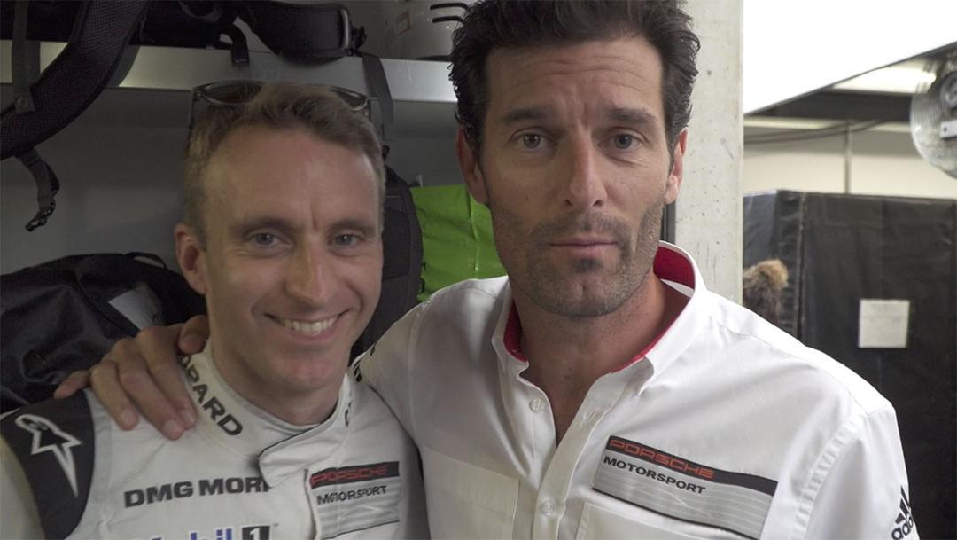 Timo Bernhard & Mark Webber