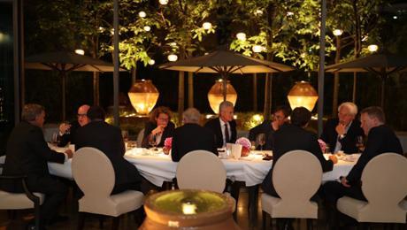 Unternehmer-Dinner am Potsdamer Platz