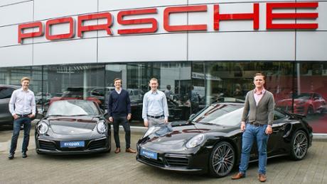 Porsche beteiligt sich an Startup Evopark