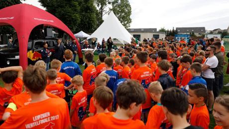 Teilnehmerrekord: Jugendturnier von Porsche und RB Leipzig