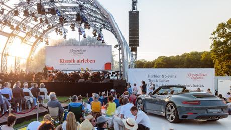 """Porsche unterstützt erneut """"Klassik airleben"""""""