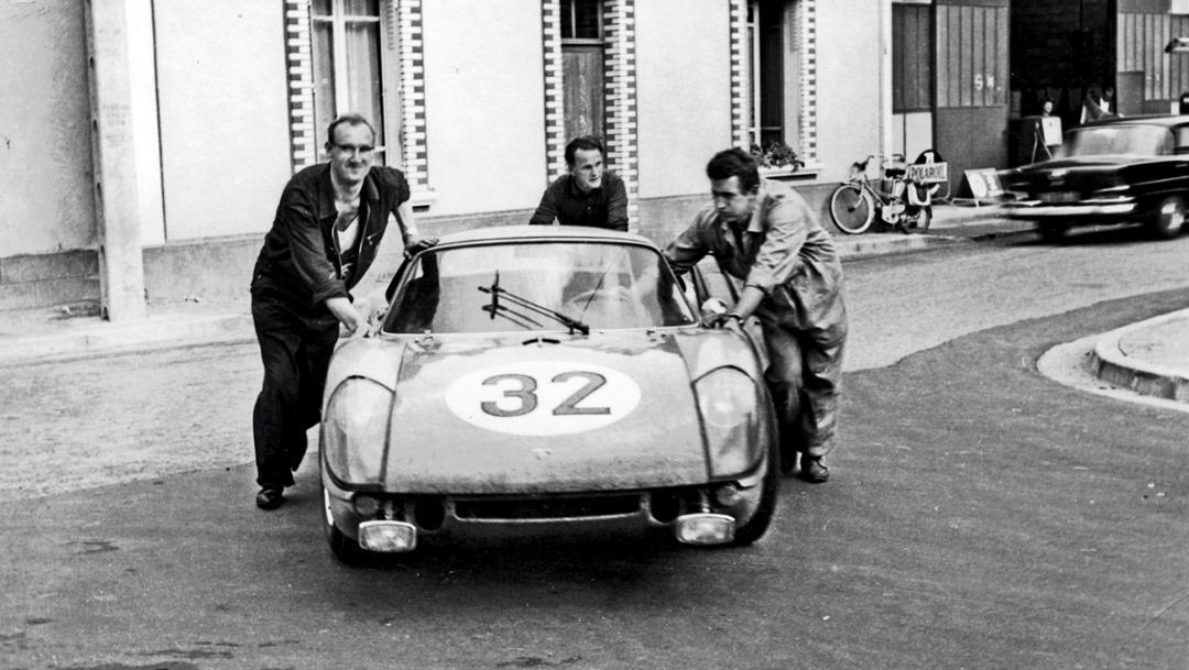Mechaniker, 904 Carrera GTS, Le Mans, 1977, Porsche AG