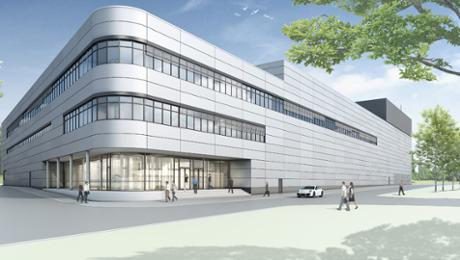 Neues Motorenwerk in Zuffenhausen