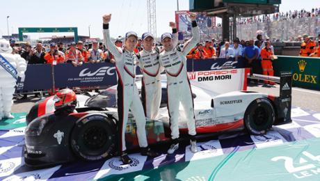 19. Gesamtsieg für Porsche in Le Mans