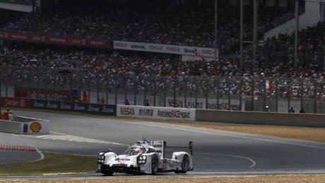 Dritter 919 Hybrid für Le Mans