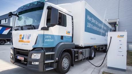 Die Logistik der Zukunft: 100 Prozent elektrisch