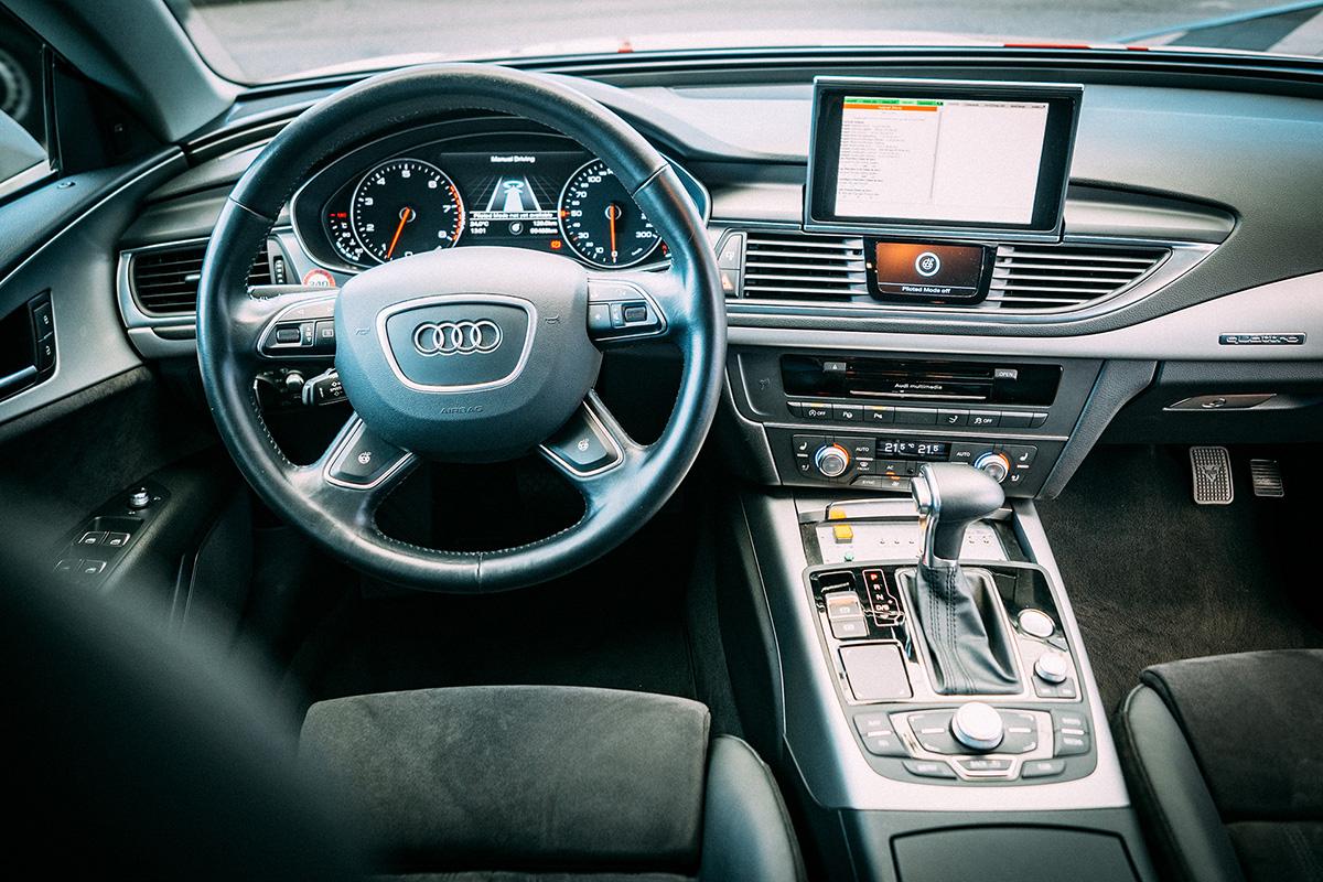 Der Innenraum des Audi A7