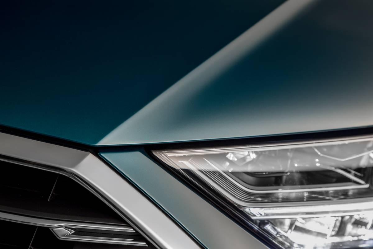 Front des neuen Audi A8