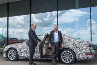Chauffeur testet Audi A8