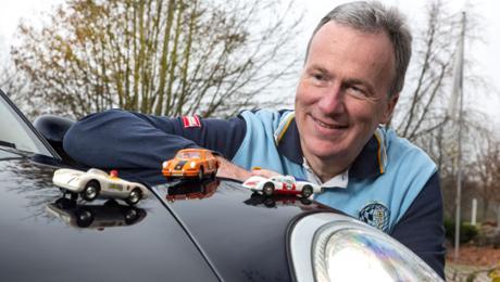Mister Mobility und die Vorliebe für Porsche