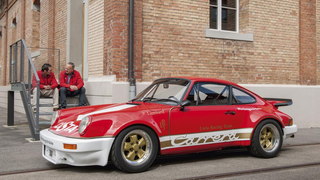 Fredy Lienhard Junior, Fredy Lienhard, l-r, 911 RSR, 2017, Porsche AG