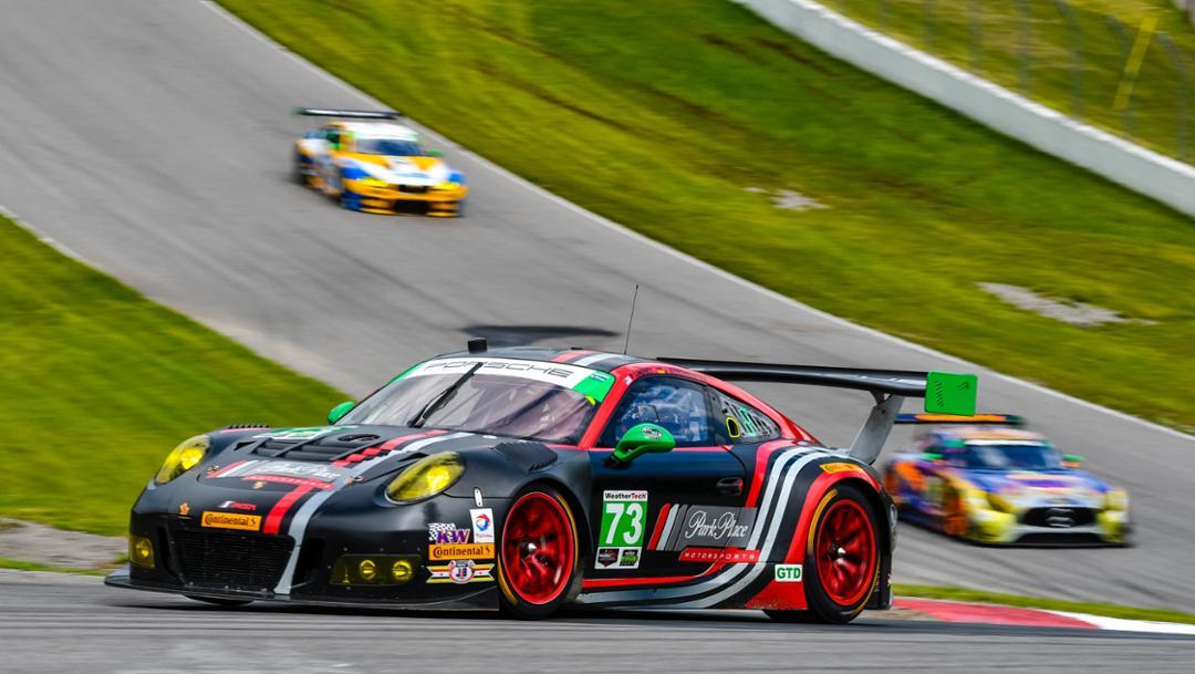 911 GT3 R, IMSA WeatherTech Sportscar Championship, Rennen, Bowmanville, Kanada, 2017, Porsche AG