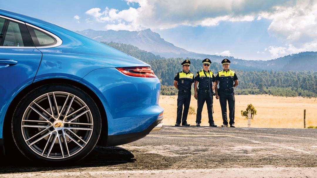 Comisario Locio González Gómez, Mitte, Panamera 4S, Ruta Panamericana, Mexiko, 2017, Porsche AG