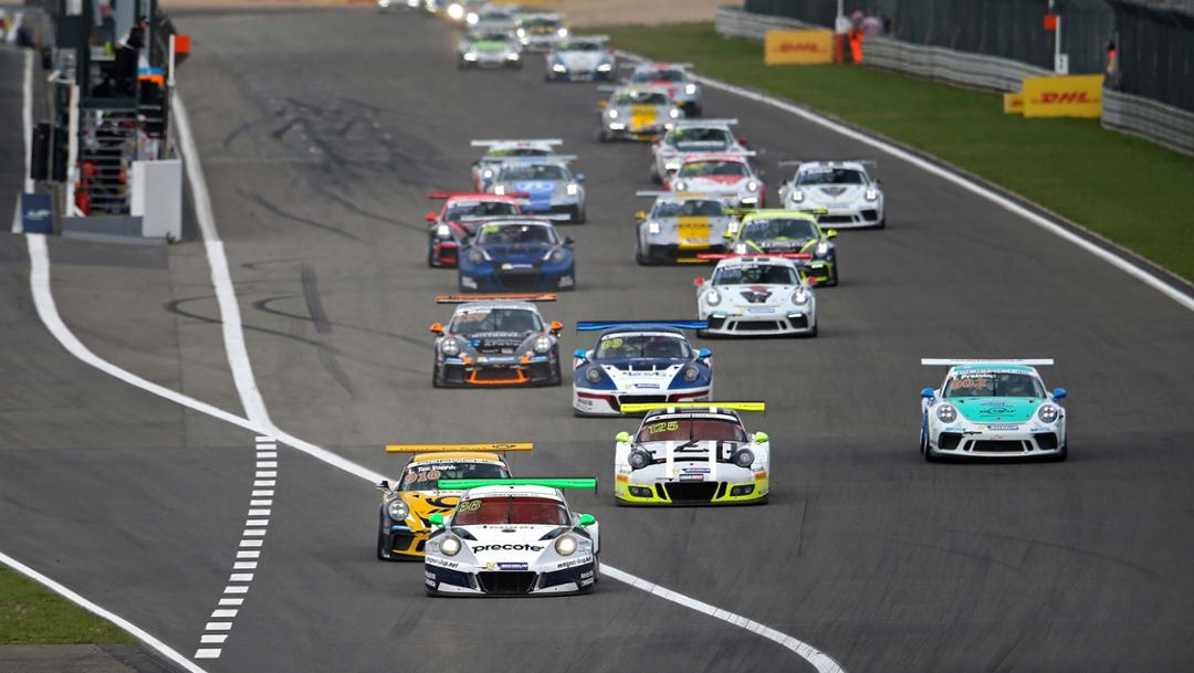 911 GT3 Cup, Porsche Motorsport Race Weekend, Porsche Carrera Cup Deutschland, Nürburgring, 2017, Porsche AG
