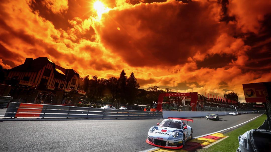911 GT3 R (912), Herberth Motorsport, Rennen, 24 Stunden von Spa, 2017, Porsche AG