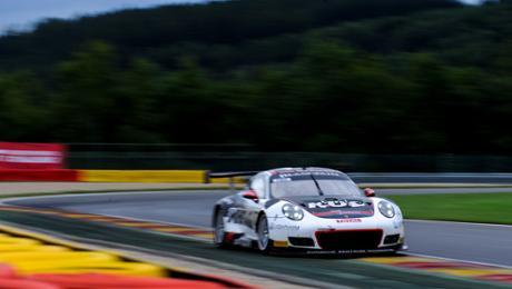 Porsche 911 GT3 R erobert zweite Startreihe