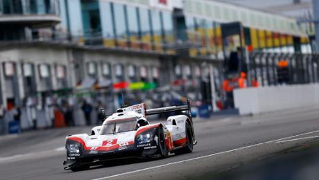 Startreihen eins und zwei für die Porsche 919 Hybrid