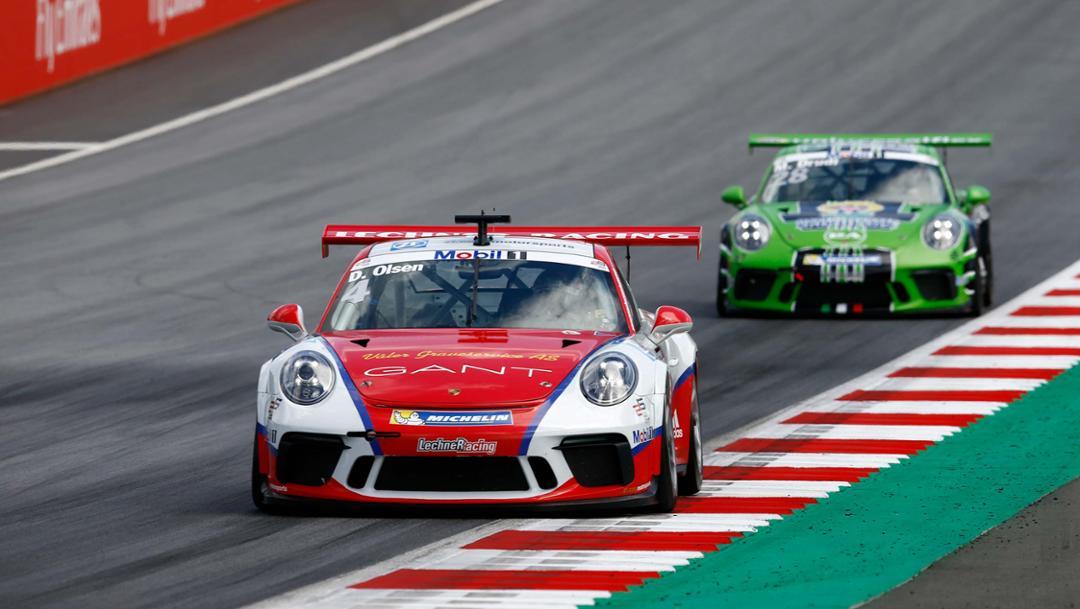 911 GT3 Cup, Porsche Mobil 1 Supercup, Spielberg, 2017, Porsche AG