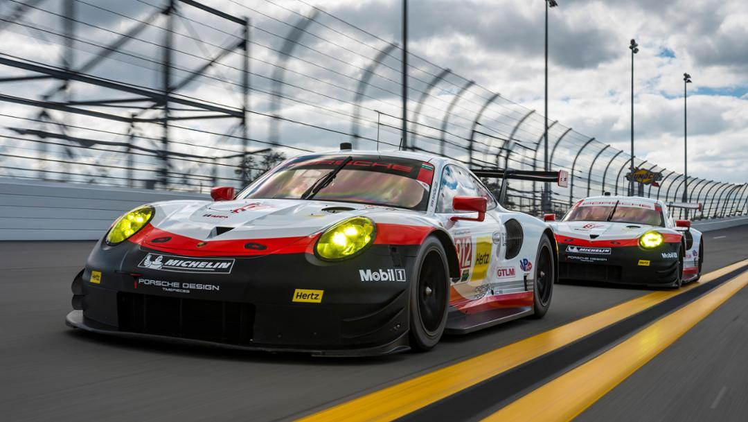 Porsche 911 RSR, Daytona, 2017, Porsche AG