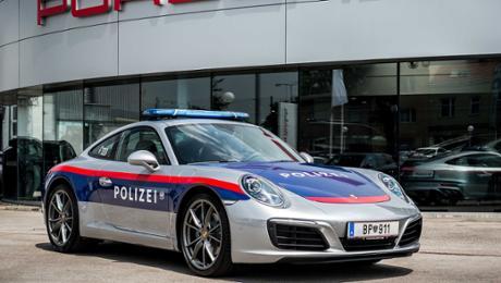 Porsche 911 im Einsatz