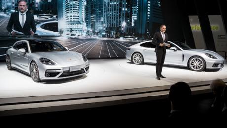 Porsche feiert fünf Asien-Premieren