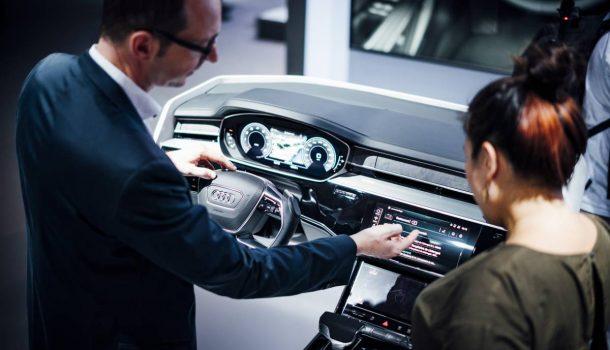 IBedienkonzept Audi A8
