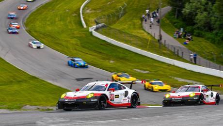 Starke Performance des 911 RSR bleibt unbelohnt