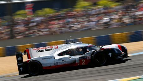 Tagesbestzeit für den Porsche 919 Hybrid