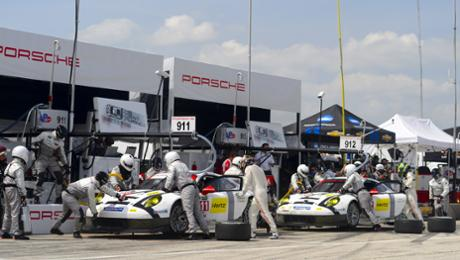 Road America: 911 RSR in den Top 5