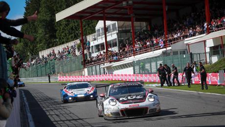 Porsche 911 GT3 R verpasst Podium nur knapp