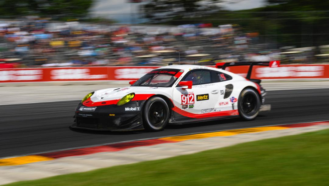 911 RSR, IMSA WeatherTech Sportscar Championship, Elkhart Lake, USA, 2017, Porsche AG