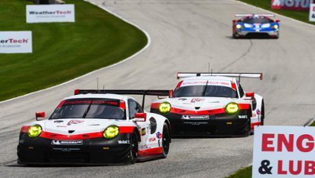 Porsche GT Team will in Virginia zweiten Gesamtsieg holen