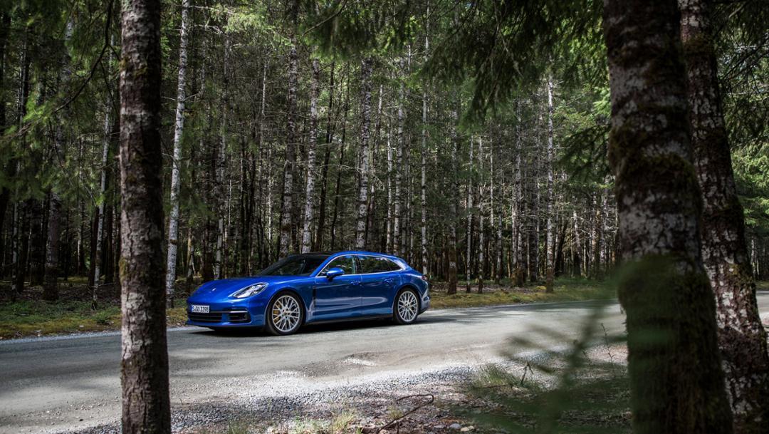 Panamera 4S Diesel Sport Turismo, Kanada, 2017, Porsche AG