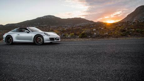 Testfahrt für 911 GTS und Panamera 4 E-Hybrid