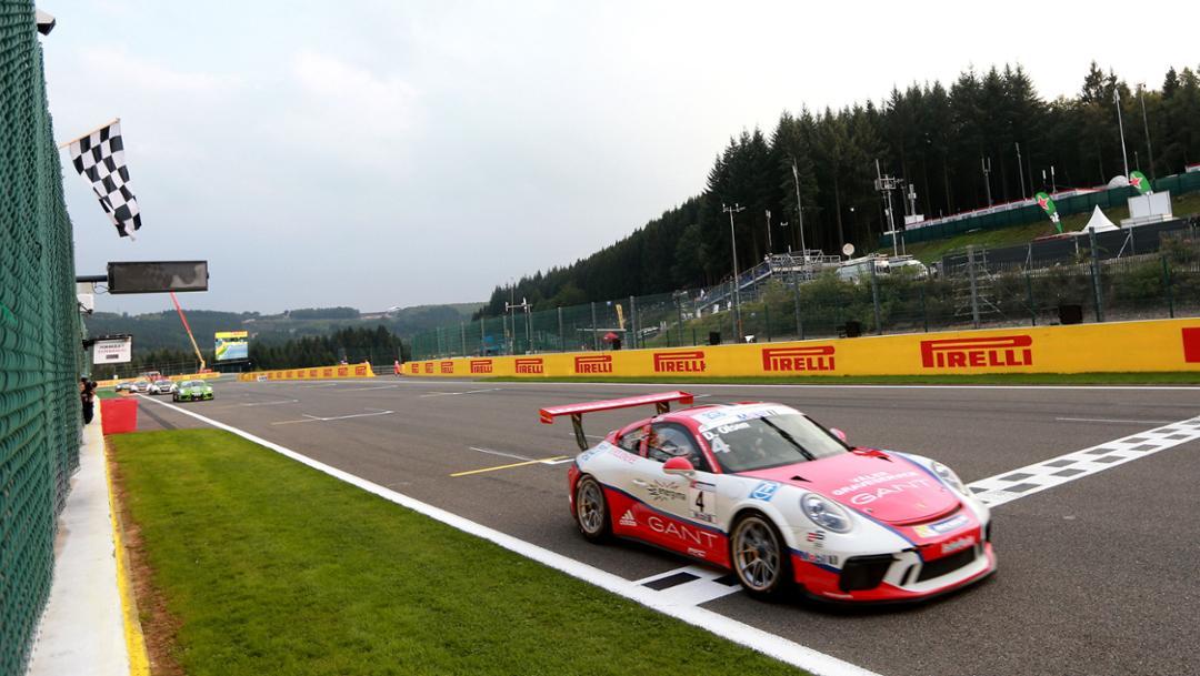 911 GT3 Cup, Porsche Mobil 1 Supercup, Spa Francorchamps, Belgien, 2017, Porsche AG
