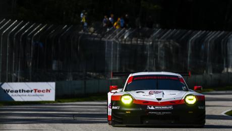 Bester 911 RSR in der zweiten Startreihe