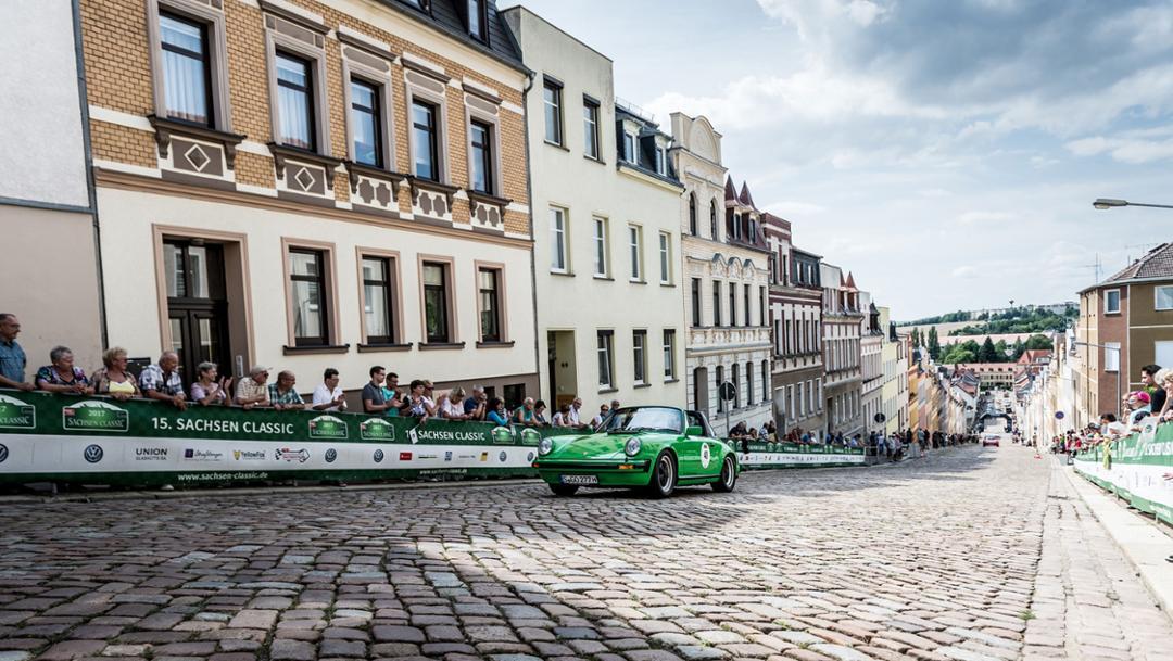 Sachsen Classic, 2017, Porsche 911 Carrera 3.0 Targa (1976), Porsche AG